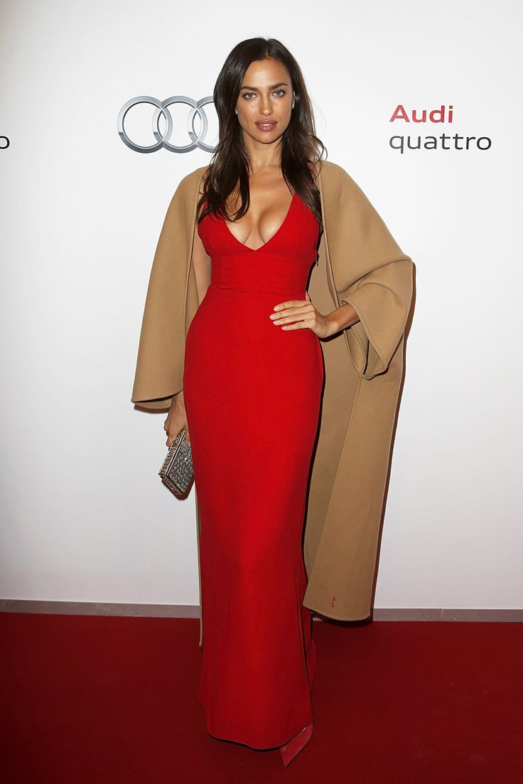 Newly Pregnant Supermodel Irina Shayk Is Always Chic on the Red Carpet Photos | W Magazine