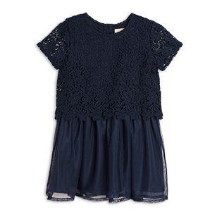 Tyll+och+spetsklänning+-+Lindex