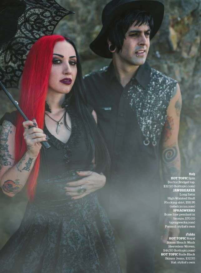 AP Fall Style Special: Featuring Ash Costello and Nikki Misery of New Years Day (AP 316 // Nov 2014 issue)