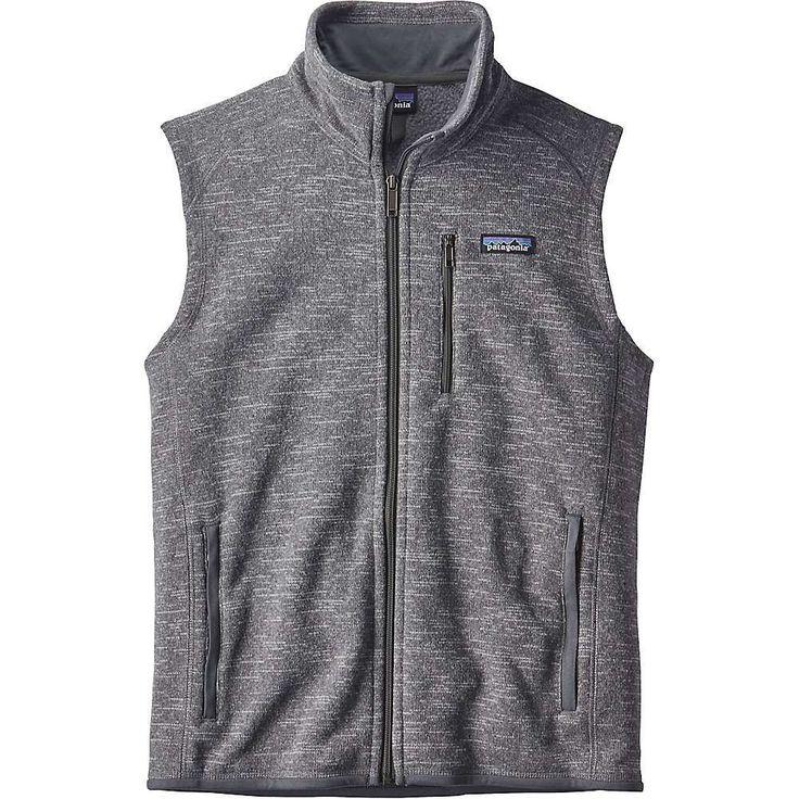 Patagonia Men's Better Sweater Vest - Medium - Nickel #vestsmen