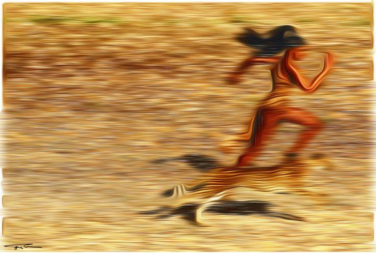 Name: Speed Author: Erik Teodoru ID number: 117 Year: 2017 Software Tool: Gimp 2.8.20   Model: Naomi Campbell Original Source Image: Internet photo, Harpers-bazaar-us-knysna-2009 Jean-Paul-Goude Project: Feelings, Motions and Emotions