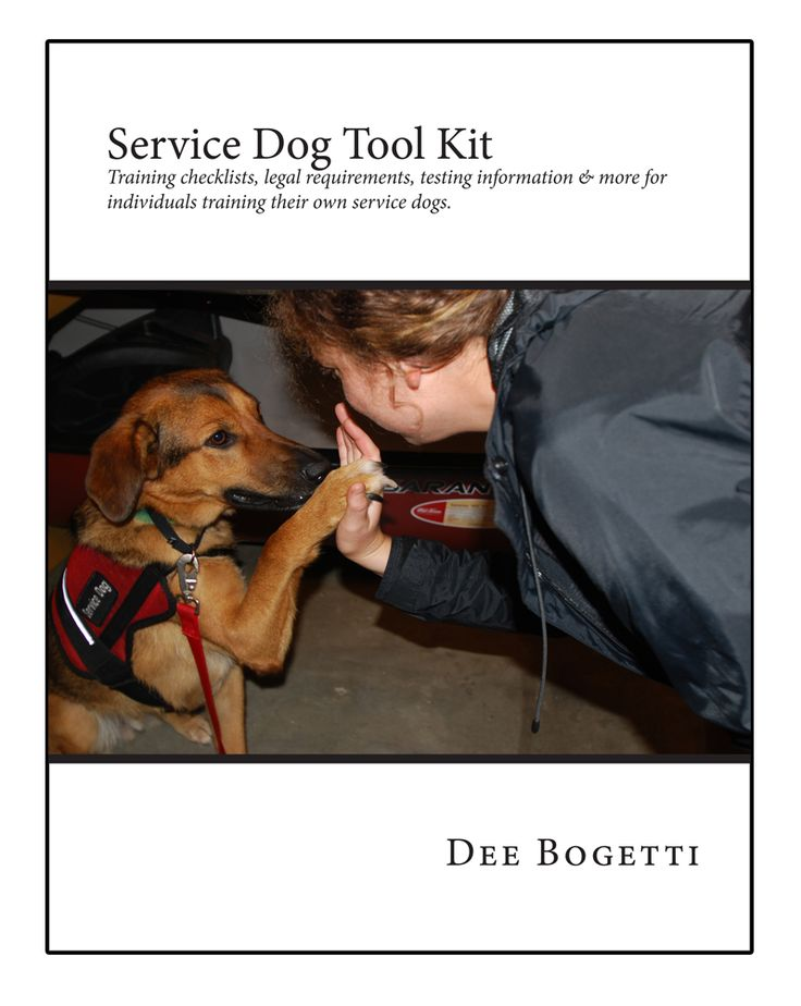 Training Your Own Psychiatric Service Dog Pdf