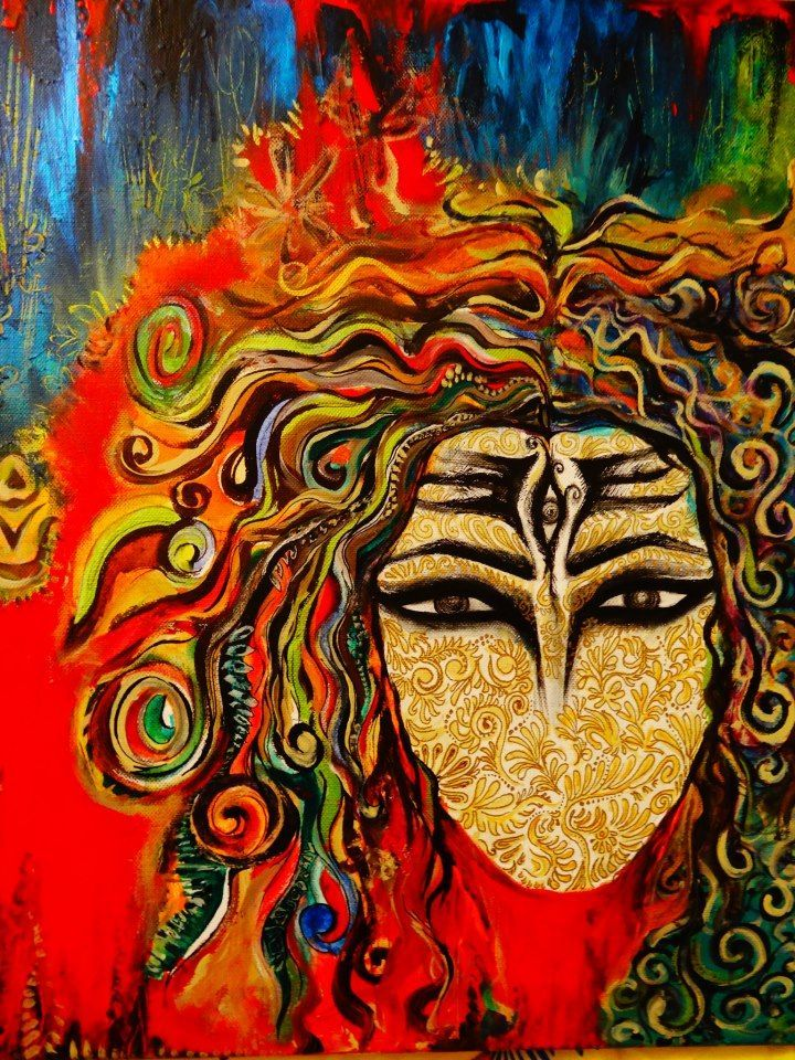 lord shiva painting.