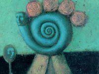 Девушка с зеркалом, холст, акрил, 70x60 Светлана Румак