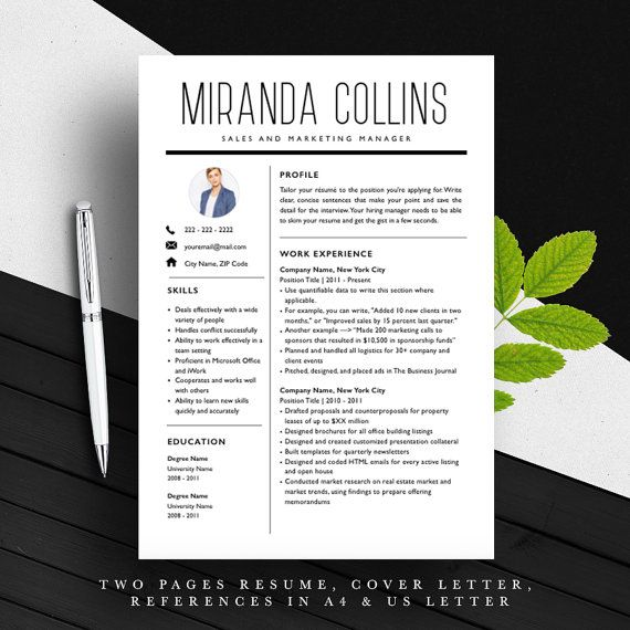 30 best Resume Templates images on Pinterest Resume templates - stand out resume templates
