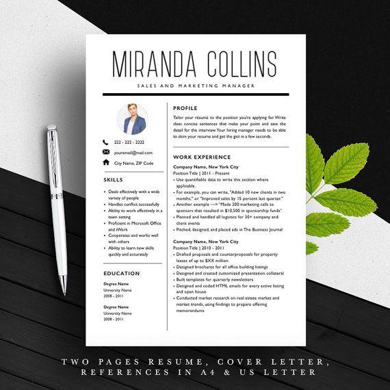 30 best resume templates images on pinterest professional resume