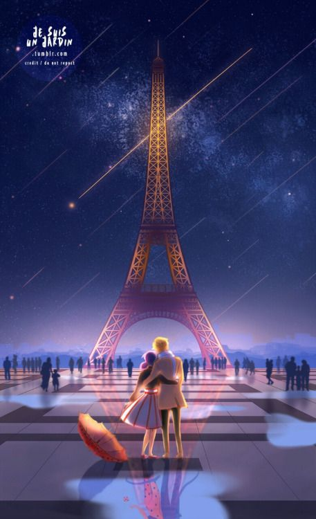 This is absolutely beautiful and I want to share it with the world (Miraculous Ladybug)