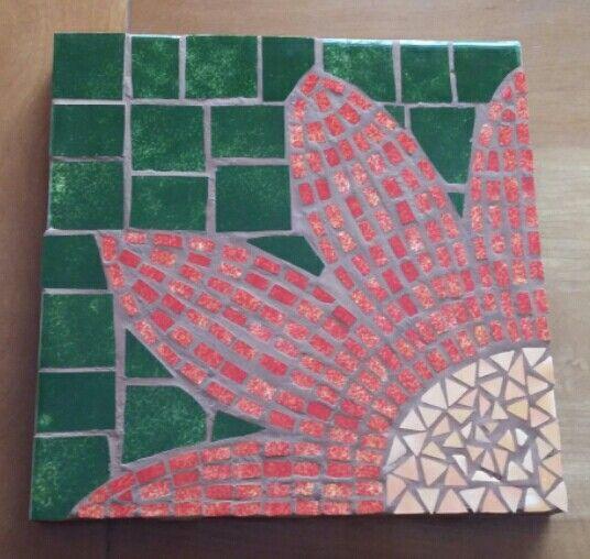Mosaico. Tabla para posar platos calientes