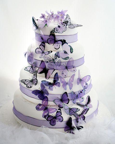 318 best purple weddings images on pinterest purple wedding 50 mauve and purple butterflies for weddings decor ebay junglespirit Choice Image