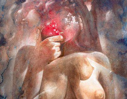 """Check out new work on my @Behance portfolio: """"Eve entame son deuxième kilo de pommes"""" http://be.net/gallery/47653635/Eve-entame-son-deuxieme-kilo-de-pommes"""