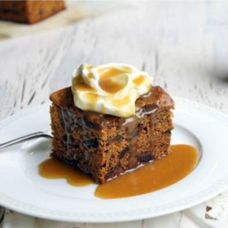 #RecipeoftheDay: Sticky Date Pudding with Caramel Sauce by purplessgirl