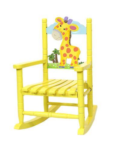 Safari Giraffe Rocking Chair