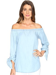 Karen Kane Tie-Sleeve Off the Shoulder Top