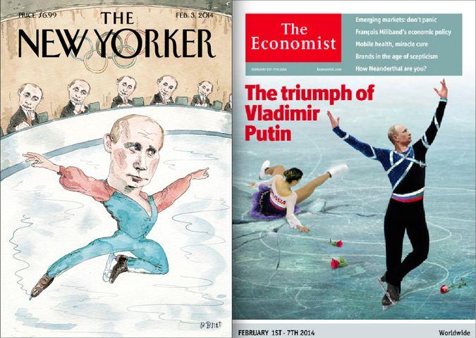 Putin ice skating covers