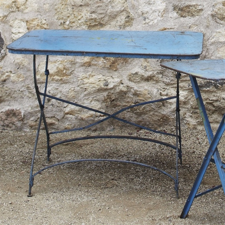 Vintage Bistro Table From Greenhouse Design Studio