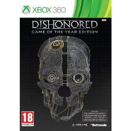 Dishonored Game Of The Year (GOTY) Game Experience the definitive Dishonored collection with the Game of the Year Edition This complete compilation includes Dishonored winner of over 100 Game of Year awards as well as all of its additional  http://www.MightGet.com/january-2017-13/dishonored-game-of-the-year-goty-game.asp