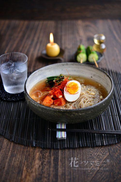 「韓国冷麺」 - 花ヲツマミニ