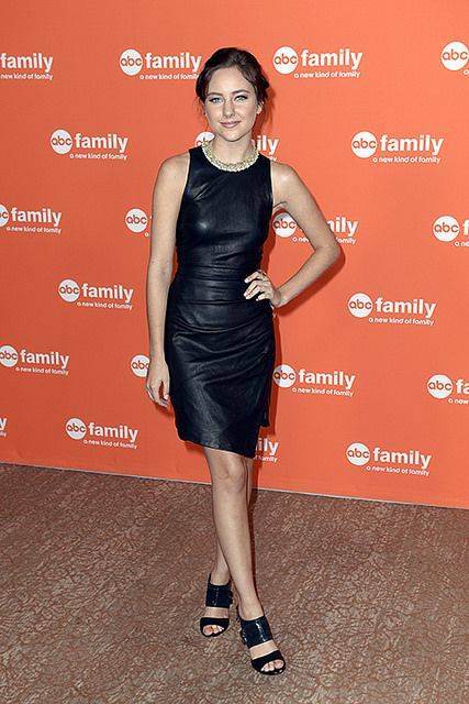 How amazing is Haley's (Brenna) dress? We love it! ChasingLife at TCA