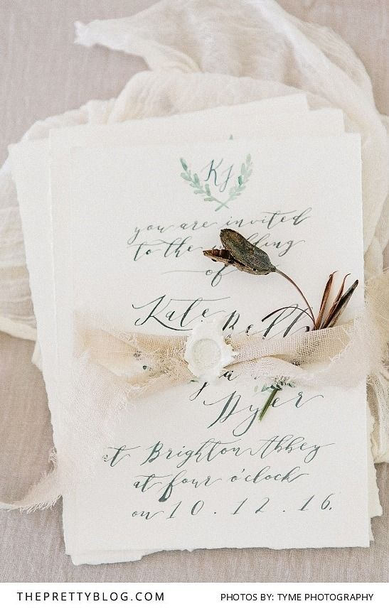 Simple Rustic Wedding Invitations | Photography by Tyme Photography | Styled Shoot | Stationery by Chrystalace
