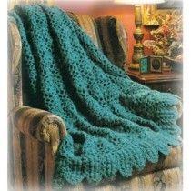 Beautiful Heirloom Puff Stitch Afghan Crochet Pattern