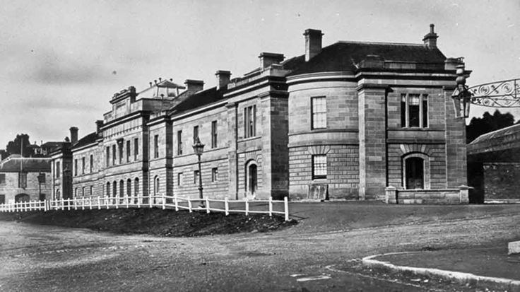 Parliament House photograph from 1869