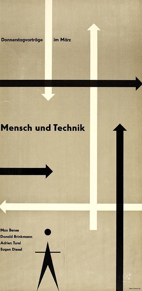 Can't go wrong with arrows. Otl Aicher, 1960 via @thinkstudionyc