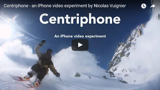 iPhone Owner Creates Custom 'Centriphone' String Powered Action Filming Device - iPhone News - Front Page Comments & Discussion - iPhone Forum