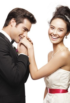 Look and feel radiant on your wedding day with help from Mary Kay. #MKlovestory