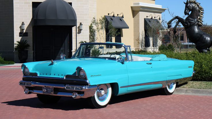 1956 Lincoln Premiere Convertible | S156 | Dallas 2011