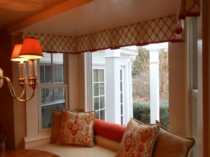 Sewing Custom Valances In 2019 Drapery Ideas Bay