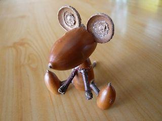 ドングリ人形の作り方① 画像あり どんぐりにんぎょうのつくりかた♪