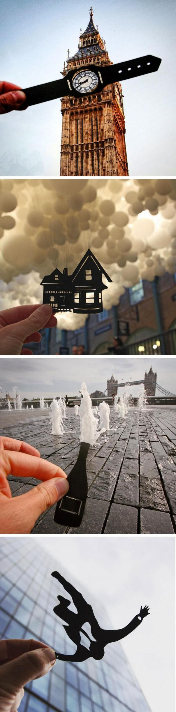 770 best advanced photography tutorials images on pinterest british photographer uses paper cutouts to cheekily transform european landmarks baditri Gallery