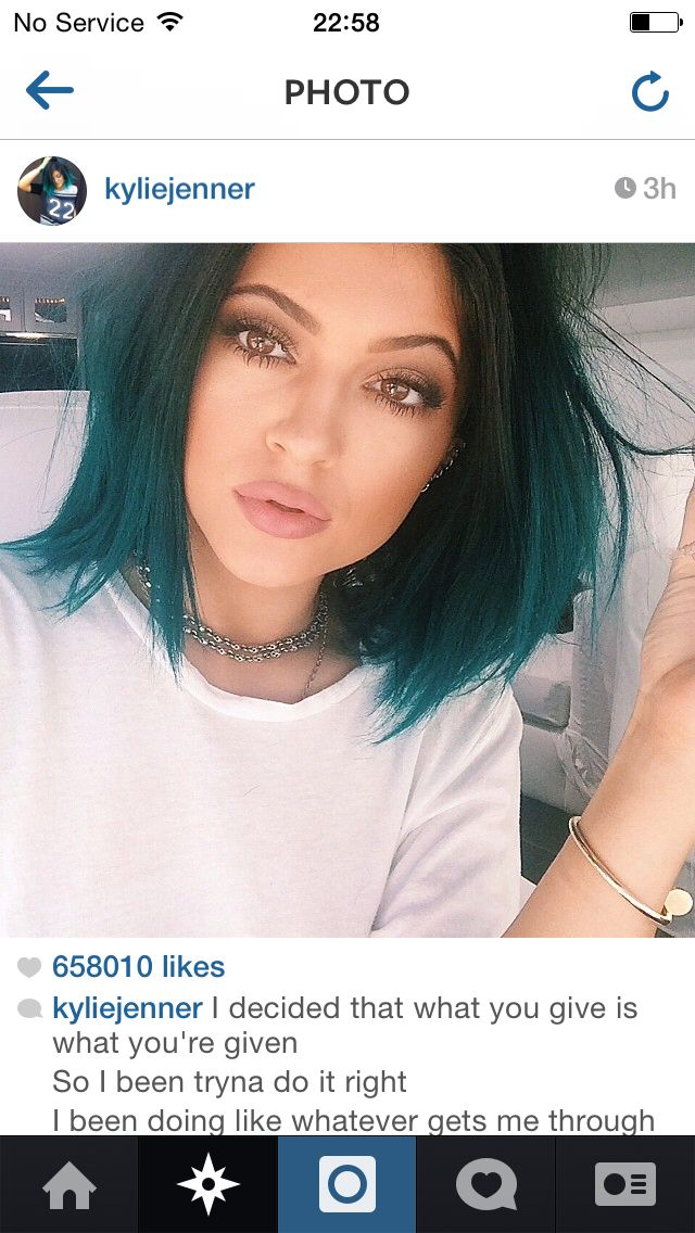 Littles Jenner's hair I'm loving at the moment she's turning into a beautiful young lady