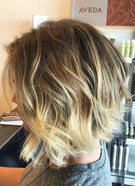 37 Short Choppy Layered Haircuts – Messy Bob Hairstyles Trends for Autumn/Winter 2019–2020 – Short Bob Cuts #bobhairstylestrends