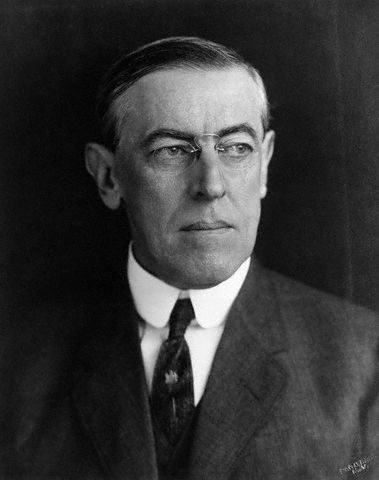 President #28 Thomas Woodrow Wilson Dem 1913-1921  V.P. Thomas R. Marshall