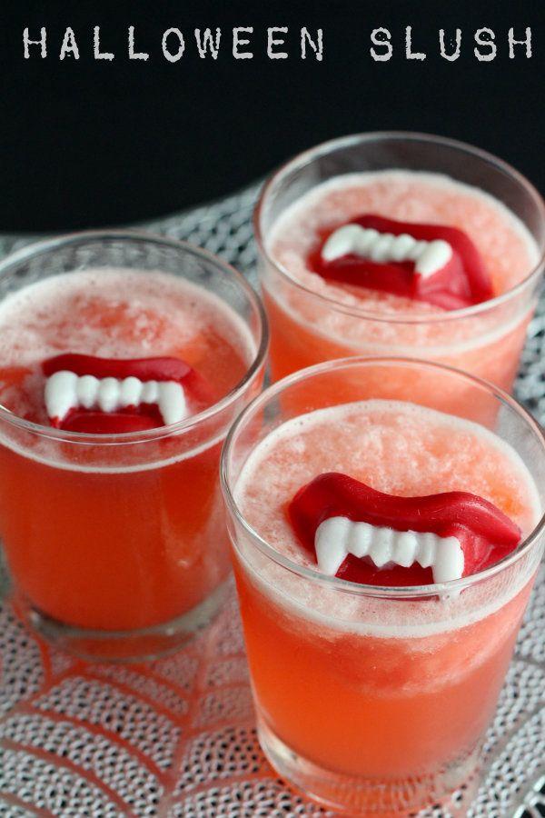 Slushy Punch Recipe FoodBlogs.com