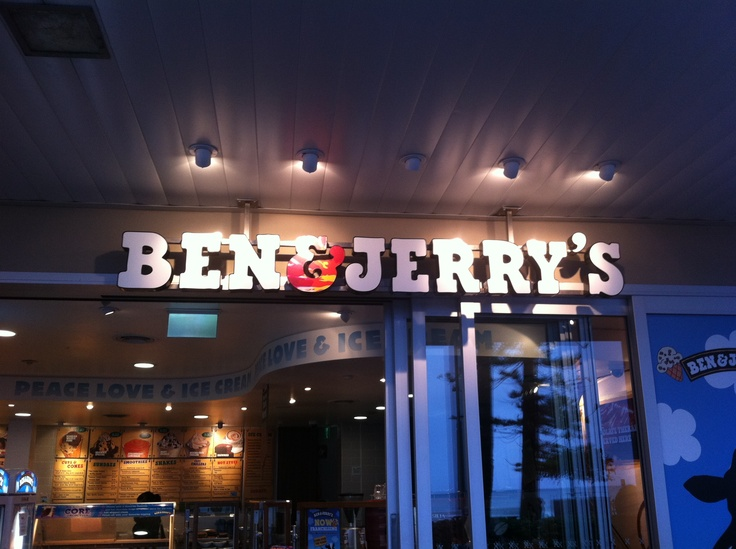 Ben and Jerry's - Best ice-cream place in Sydney
