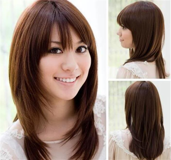 Cool 1000 Ideas About Medium Long Hairstyles On Pinterest Long Short Hairstyles Gunalazisus