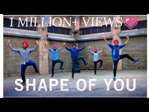 SHAPE OF YOU    PUNJABI BHANGRA STYLE    ED SHEERAN    ft. MITTRAN DE JUNCTION TE    DILJIT DOSANJH - YouTube