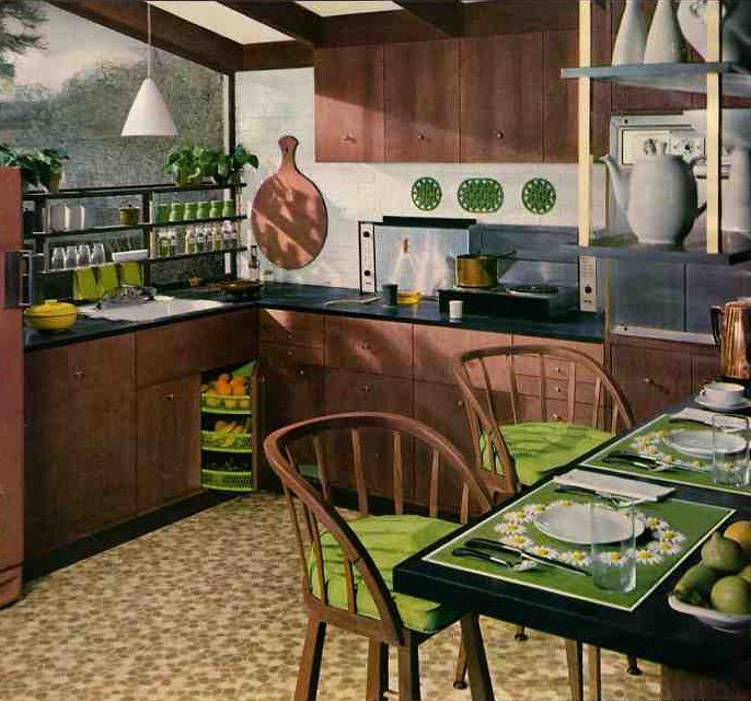 17+ Images About 1950s Interiors On Pinterest