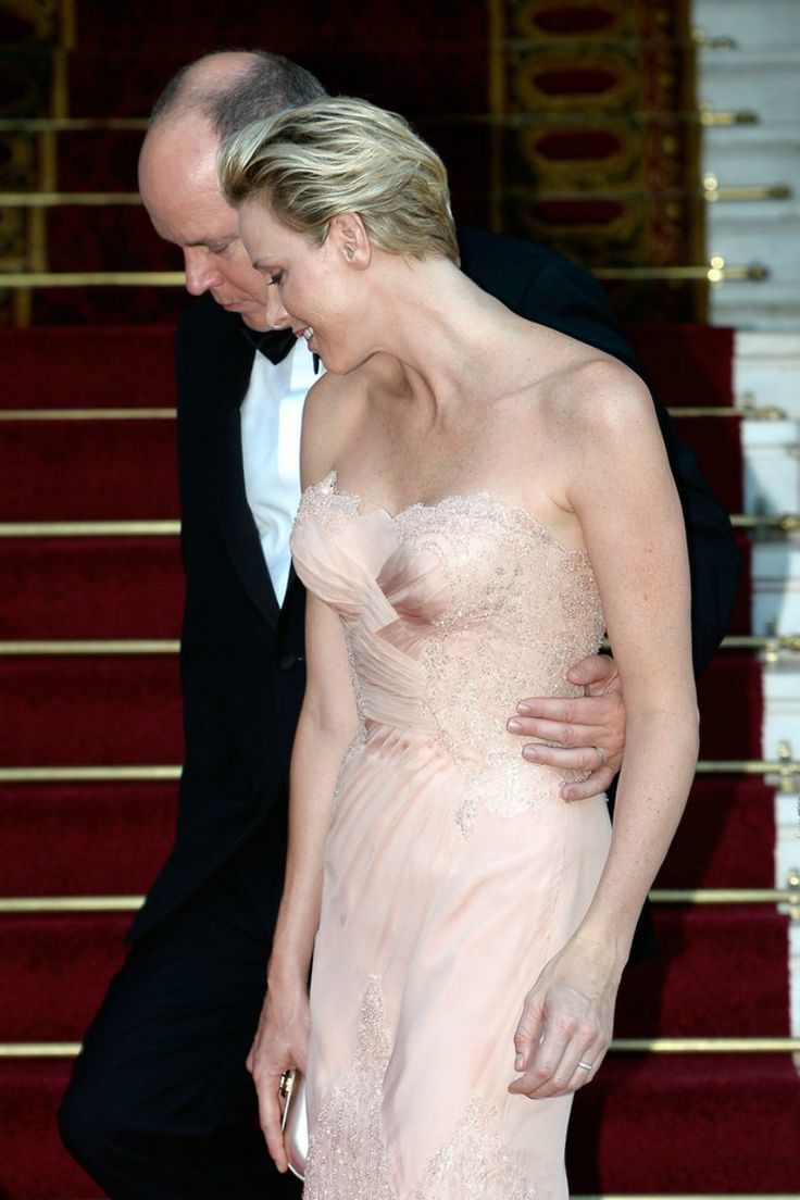 Prince Albert and Princess Charlene