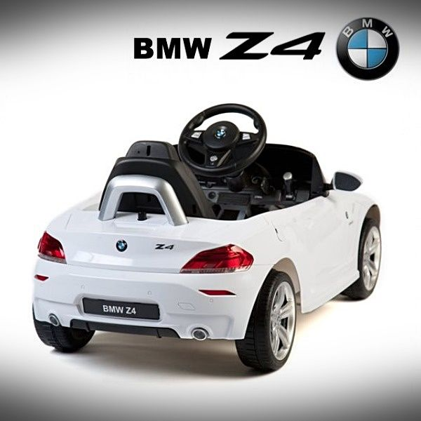 Bmw Z4 Manual: Coche Eléctrico Para Niños Original Y Con Licencia BMW Z4
