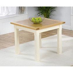 Mark Harris Furniture Windsor 90cm Dining Table in Solid Oak (£335)