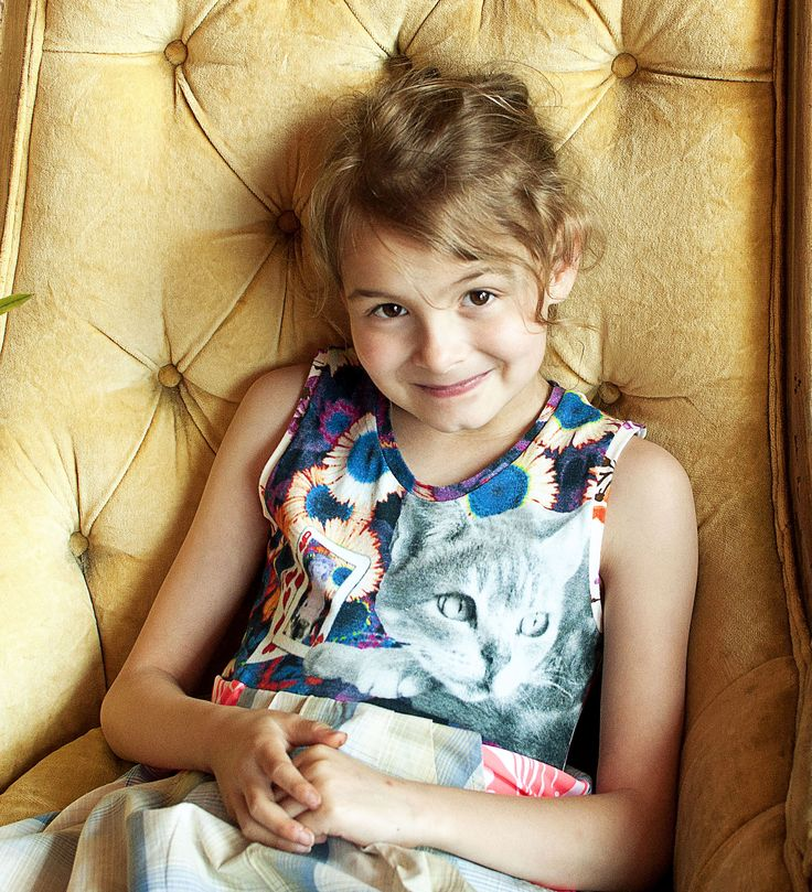 cat dress - PiNk tomaTiNa little girl dresses