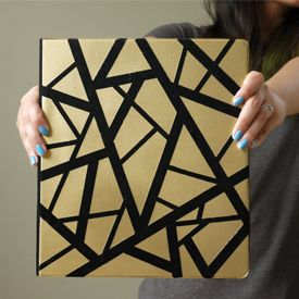 Canvas Design Ideas fill your walls with 23 canvas painting ideas you can easily diy Turning A Lifeless Boring Binder Into Something Youd Want To Use Is Pretty Easy