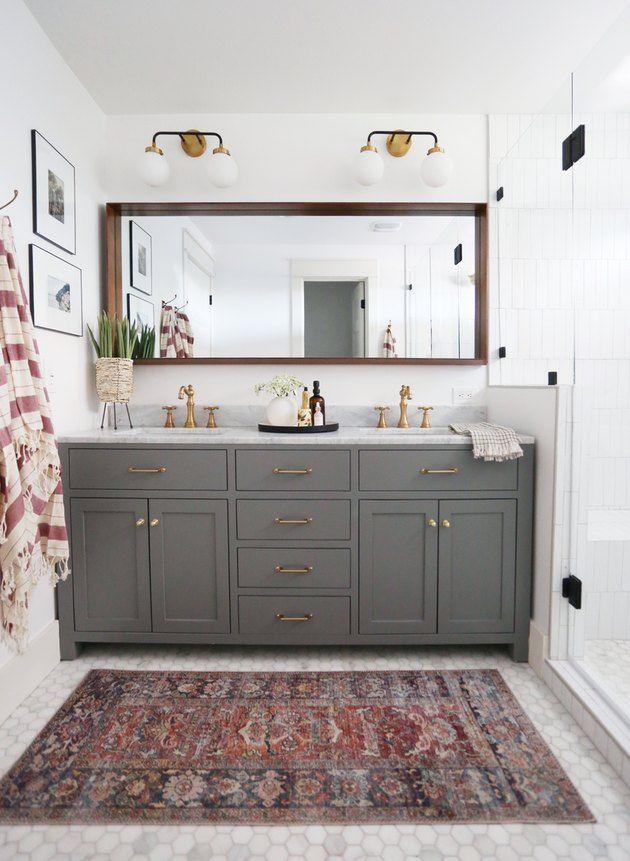 35+ Bathroom cabinet decorating ideas model
