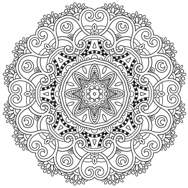 4135 Best Images About Printable Mandalas On Pinterest