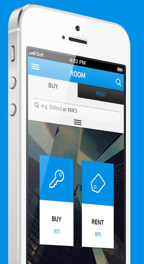 Flat Mobile UI Design and UX-9