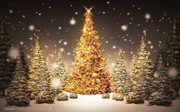 Beautiful Christmas Tree Wallpaper HD