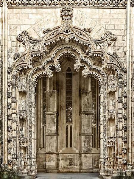 .Batalha Monastery, Portugal, photo by Daniel Schwabe via Flickr